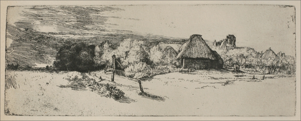 Landscape with Tower / Paysage à la tour, circa 1651